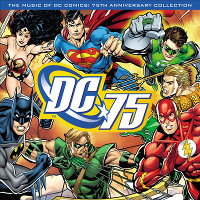 O.S.T. - Music Of DC Comics (75th Anniversary Collection) (뮤직 오브 DC 코믹스) (180g Blue LP)