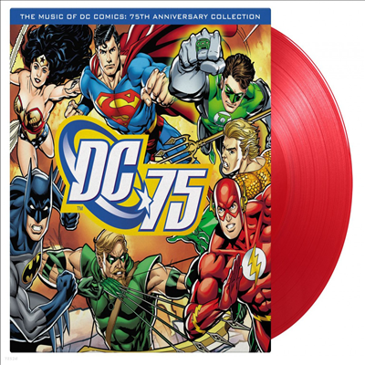 O.S.T. - Music Of DC Comics (75th Anniversary Collection) (뮤직 오브 DC 코믹스) (180g Red LP)