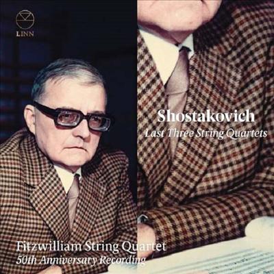 50주년기념 - 쇼스타코비치: 후기 현악 사중주 작품집 (50th Anniversary Recording - Shostakovich: Last Three String Quartets) (2CD) - Fitzwilliam String Quartet