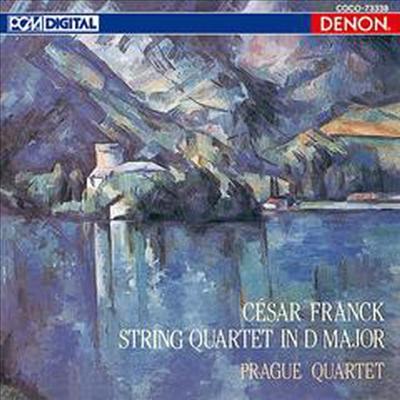 프랑크: 현악 사중주 D 장조 (Franck: String Quartet D major) (일본반) - Prague String Quartet
