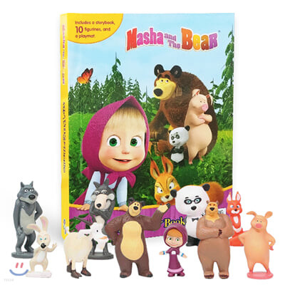 My Busy Books Masha & the Bear : 마샤와 곰 비지북