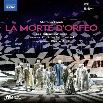란디: 바로크 오페라 '오르페오의 죽음' (Landi: La morte d'Orfeo) (한글자막)(DVD) (2020) - Christophe Rousset