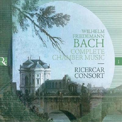 W.F.바흐: 실내악 작품집 (W.F.Bach: Complete Chamber Works) (2CD) - Ricercar Consort