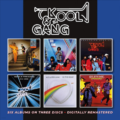 Kool & The Gang - Ladies Night / Celebrate! / Something Special / As One / In The Heart/ Emergency (Remastered)(Digipack)(3CD)