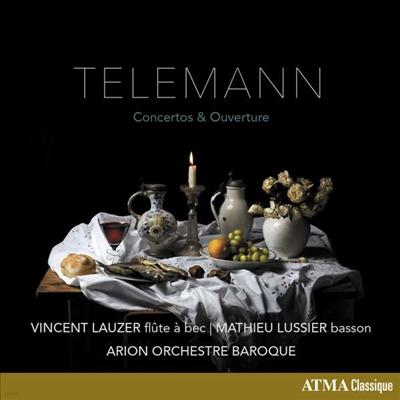텔레만: 협주곡 & 서곡집 (Telemann: Concertos & Ouverture) - Alexander Weimann