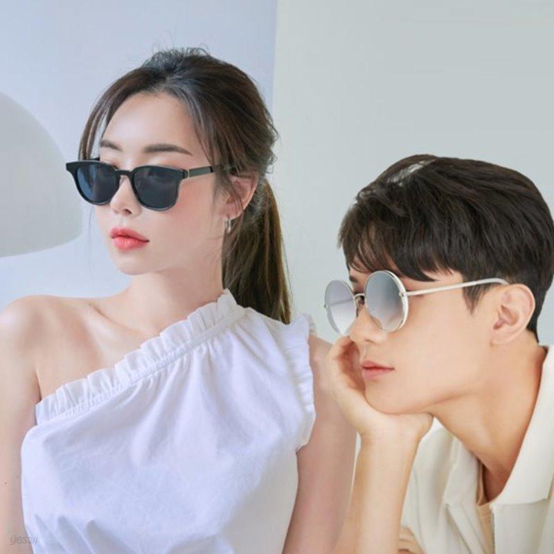 투디터 여성 남성 동글이 사각 선글라스