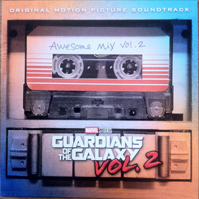 O.S.T. - Guardians Of The Galaxy Vol. 2 (가디언즈 오브 갤럭시 VOL. 2)(O.S.T.)(Ltd. Ed)(Orange LP)