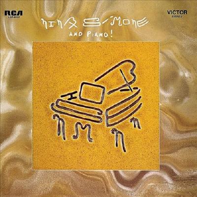 Nina Simone - And Piano! (Ltd. Ed)(180G)(Gold Vinyl)(LP)