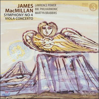 Lawrence Power 맥밀런: 교향곡 4번, 비올라 협주곡 (MacMillan: Symphony No. 4, Viola Concerto)
