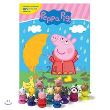 Peppa Pig My Busy Book 페파 피그 비지북 피규어 책