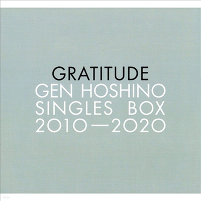 "Hoshino Gen (호시노 겐) - Singles Box ""Gratitude"" (12CD+11Blu-ray)"