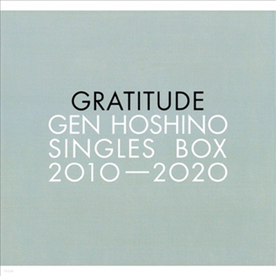 "Hoshino Gen (호시노 겐) - Singles Box ""Gratitude"" (12CD+11DVD)"