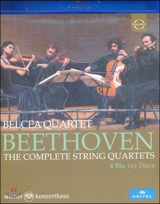 Belcea Quartet 베토벤: 현악 4중주 전곡집 - 벨체아 사중주단 [블루레이]