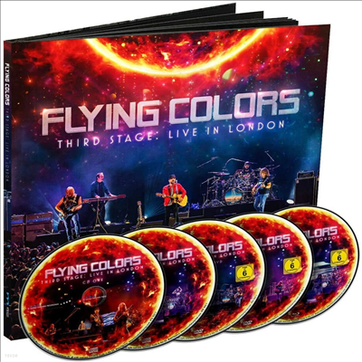 Flying Colors - Third Stage: Live In London (Deluxe Edition)(2CD+2DVD+Blu-ray)(Box Set)