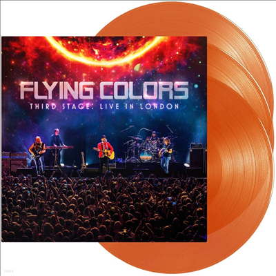 Flying Colors - Third Stage: Live In London (Ltd)(Gatefold Colored 3LP)