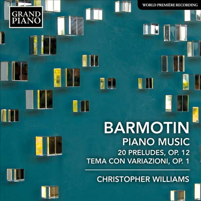 바르모틴: 피아노 작품집 (Barmotin: Piano Music) - Christopher Williams