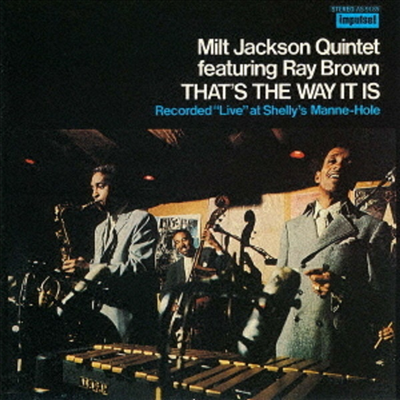 Milt Jackson - That's The Way It Is (Ltd. Ed)(UHQCD)(일본반)