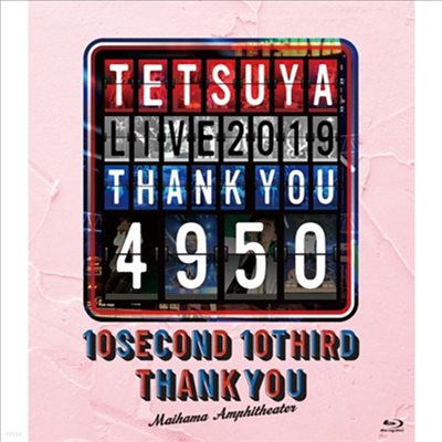 Tetsuya (테츠야) - Live 2019 Thank You 4950 (Blu-ray)(Blu-ray)(2020)