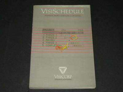 visischedule (apple2&2plus 48k16 sector) 비지코프