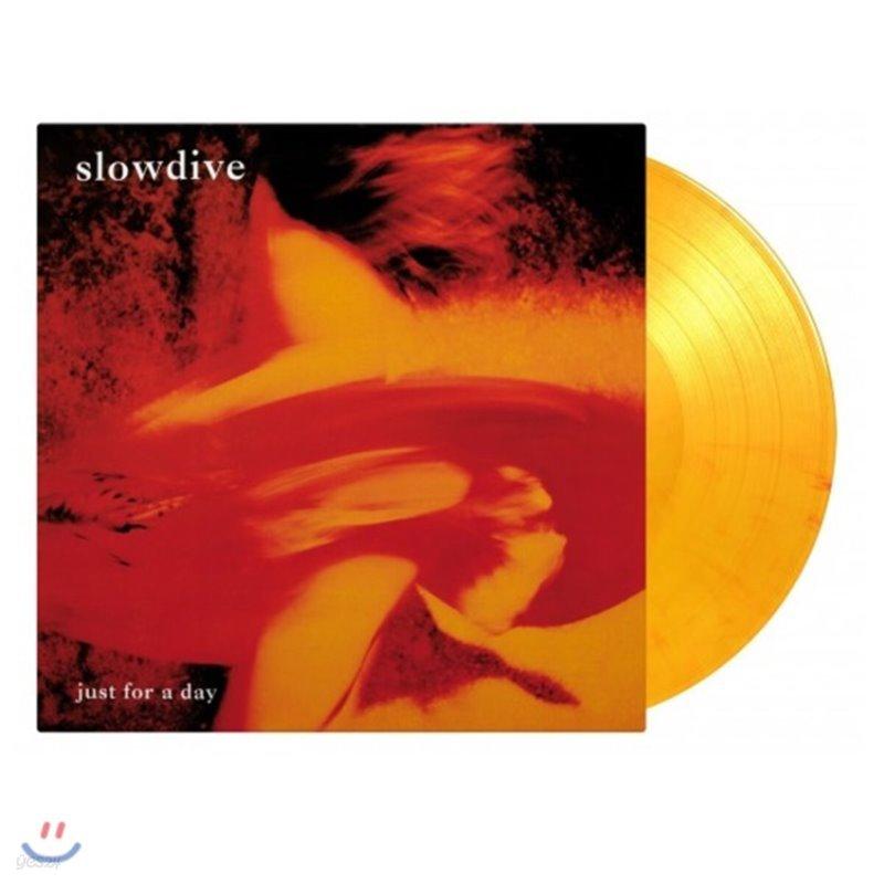 Slowdive (슬로우다이브) - 1집 Just For A day [플레이밍 컬러 LP]