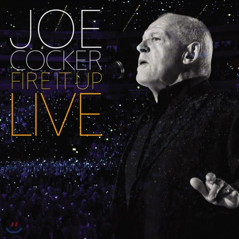 Joe Cocker (조 카커) - Fire It Up (Live) [3LP]