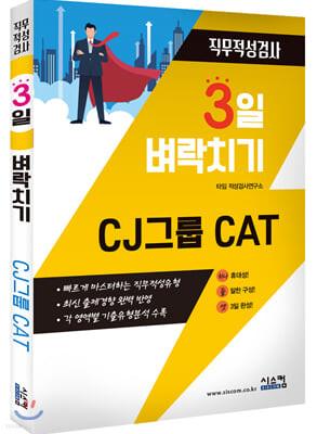 3일 벼락치기 CJ 그룹 CAT