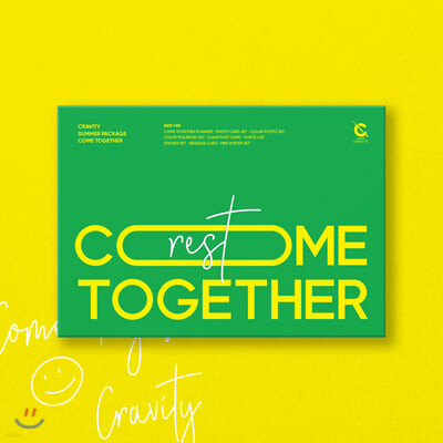 CRAVITY (크래비티) - CRAVITY Summer Package 'Come Together' [Rest ver.]