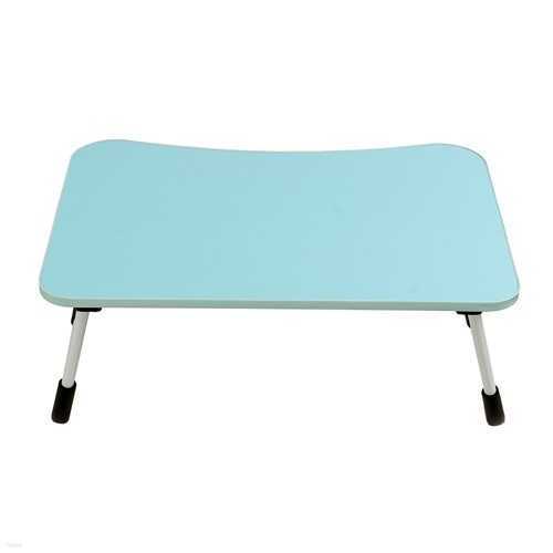 베이직 접이식 좌식 테이블(블루) /노트북책상