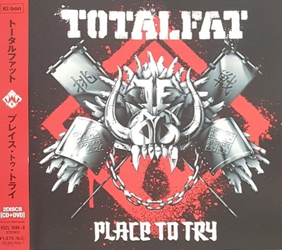 [일본반] TOTALFAT - Place To Try [CD+DVD]