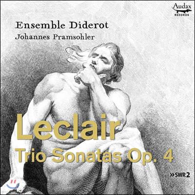 Johannes Pramsohler 르클레르: 트리오 소나타 (Leclair: Trio Sonatas Op.4)