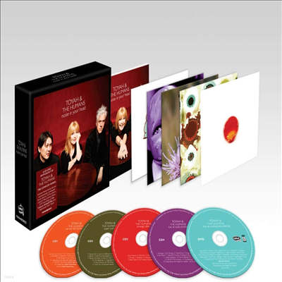 Toyah & The Humans - Noise In Your Head (4CD+DVD)(Box Set)