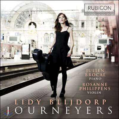 Lidy Blijdorp 라벨:피아노와 첼로를 위한 모음곡 / 코다이: 무반주 첼로를 위한 소나타 (Journeyers)