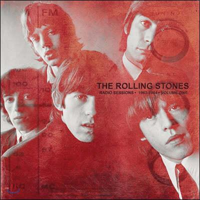 The Rolling Stones (롤링 스톤스) - Radio Sessions Vol. 1: 1963-1964 [레드 컬러 2LP]