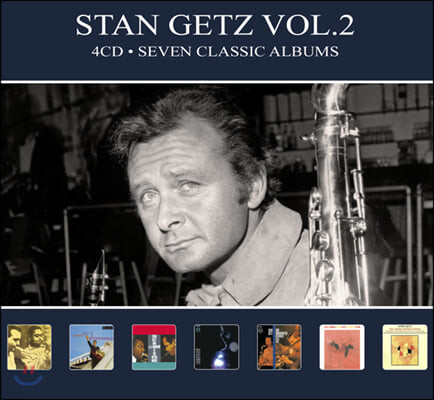Stan Getz (스탄 게츠) -  Vol.2: Seven Classic Albums