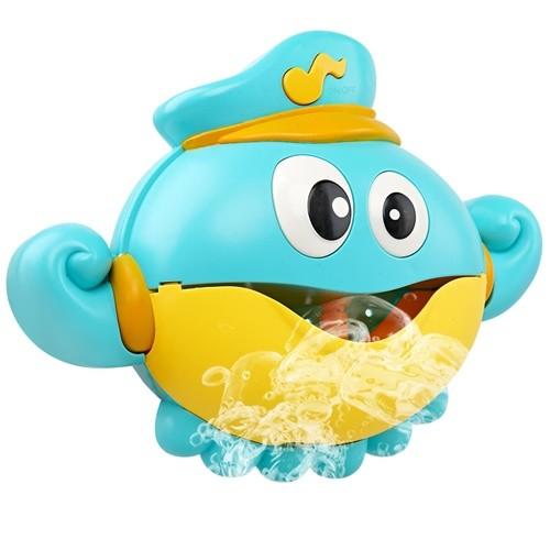 레츠토이 버블문어선장 유아 목욕놀이 거품기