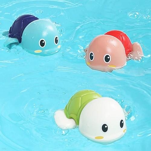 레츠토이 수영하는 거북이 삼총사 유아 목욕놀이...