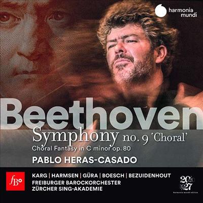 베토벤: 교향곡 9번 '합창' & 코랄 환상곡 (Beethoven: Symphony No.9 'Choral' & Choral Fantasy) (2CD) - Pablo Heras-Casado