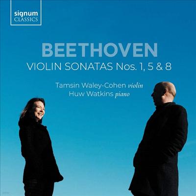 베토벤: 바이올린 소나타 1, 5 '봄' & 8번 (Beethoven: Violin Sonatas Nos. 1, 5 'Spring' & 8) - Huw Watkins