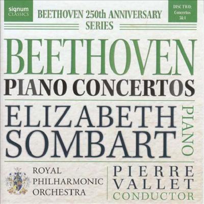 베토벤: 피아노 협주곡 3 & 4번 (Beethoven: Piano Concertos Nos.3 & 4) - Elizabeth Sombart