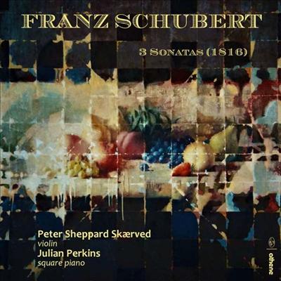 슈베르트: 바이올린 소나타 1, 2 & 3번 (Schubert: Violin Sontas Nos.1, 2 & 3) - Peter Sheppard Skaerved