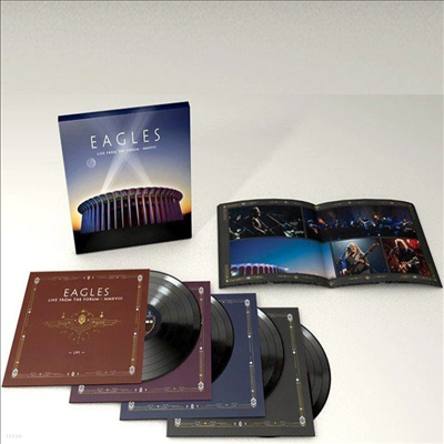 Eagles - Live From The Forum MMXVIII (4LP Box Set)