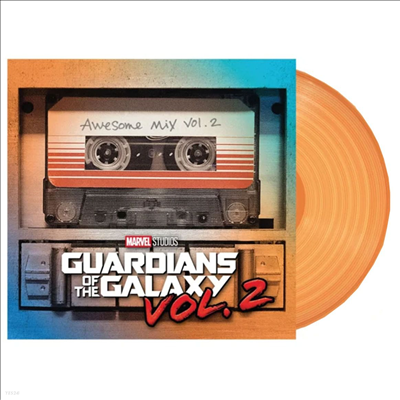 O.S.T. - Guardians Of The Galaxy Vol. 2 (가디언즈 오브 갤럭시 Vol. 2) (Soundtrack)(Ltd)(Colored LP)