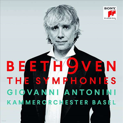 베토벤: 교향곡 전집 1 - 9번 (Beethoven: Complete Symphonies Nos.1 - 9) (6CD Boxset) - Giovanni Antonini