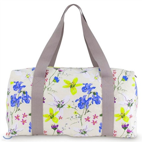 [ALL FOR COLOR] re Duffle 대형 사각 보스턴백(시그너처)-Heritage Floral