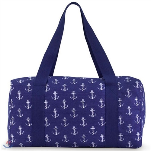 [ALL FOR COLOR] Large Square Duffle 대형 사각 보스턴백(시그너처)-Anchor Way