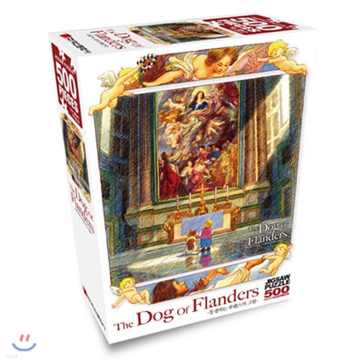 플란다스의 개 직소퍼즐 500pcs 동경하는 루벤스의 그림