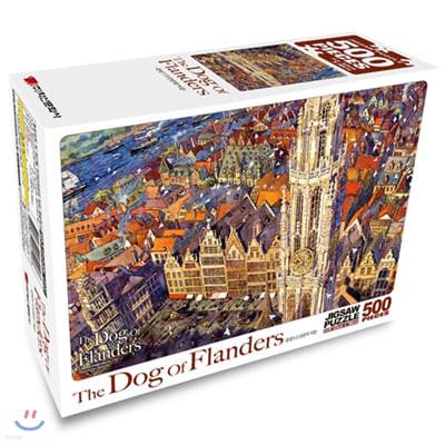 플란다스의 개 직소퍼즐 500pcs 플랑드르 성당의 여름