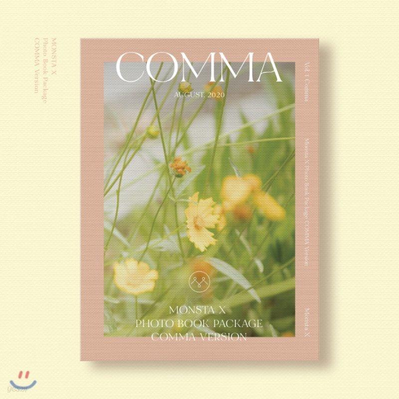 몬스타엑스 (MONSTA X) - 몬스타엑스 2020 화보집 [COMMA ver.]