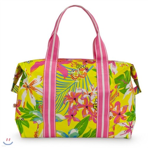 [ALL FOR COLOR] Travel Tote 여행가방 토트백 - Island Oasis