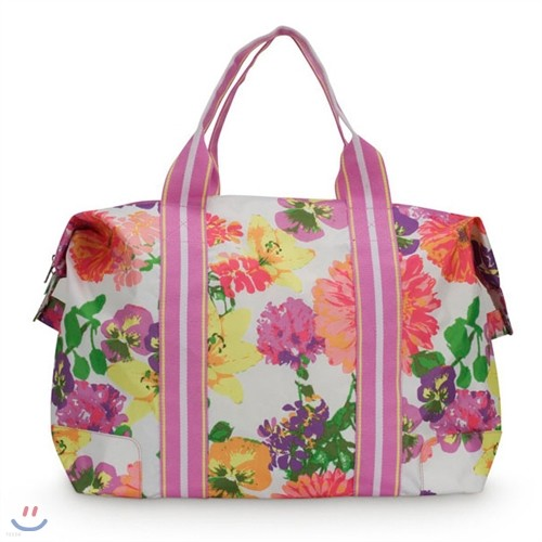 [ALL FOR COLOR] Travel Tote 여행가방 토트백 - Garden Retreat